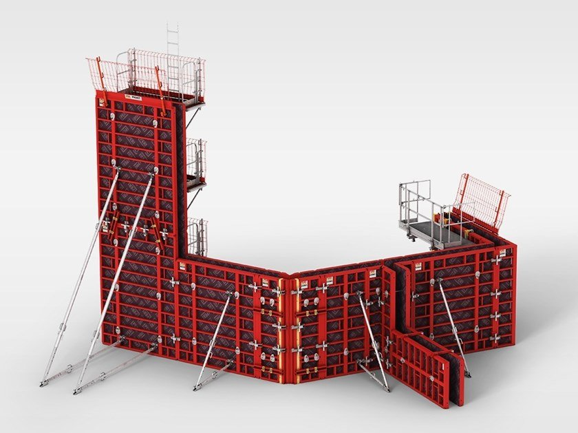 Formwork system for load-bearing wall MAXIMO by PERI