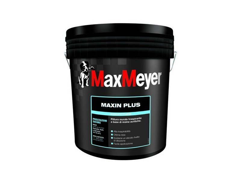 Breathable water-based paint MAXIN PLUS by MaxMeyer