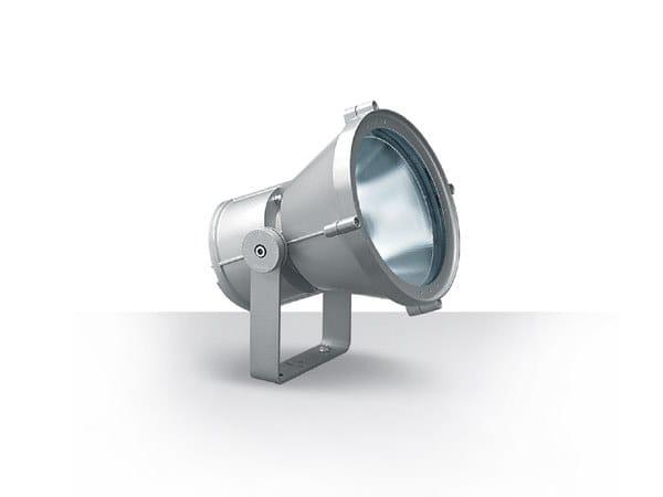 Adjustable aluminium Outdoor floodlight MAXIWOODY by iGuzzini