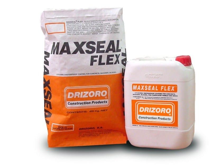 Cement-based waterproofing coating MAXSEAL® FLEX by Drizoro Italia