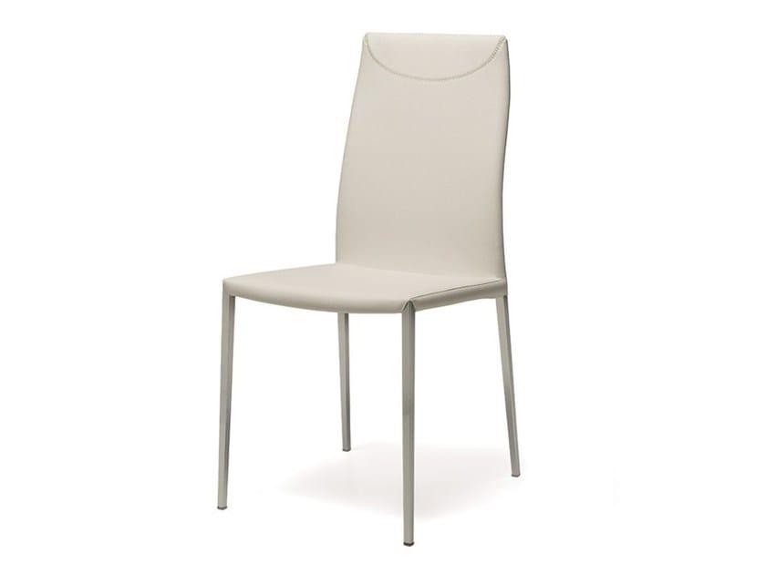 Leather chair MAYA FLEX ML by Cattelan Italia