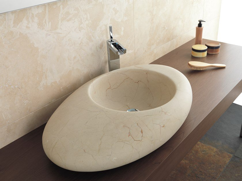 Lavabo da appoggio in pietra naturale MAYA By L\'ANTIC COLONIAL