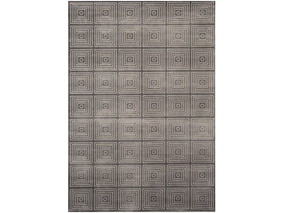 Rectangular viscose rug MAYA by Sirecom Tappeti