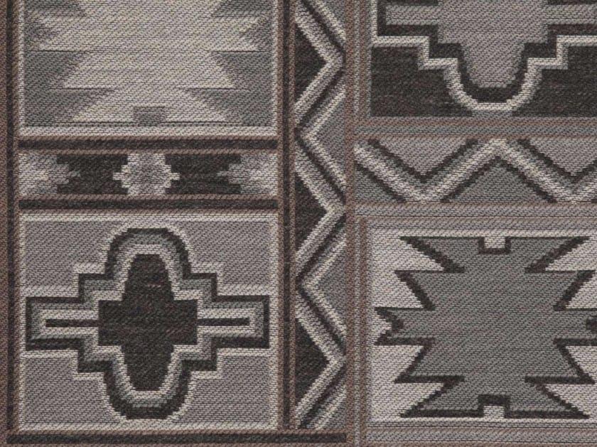 Tessuto in acrilico con motivi grafici MAYAN by Gancedo