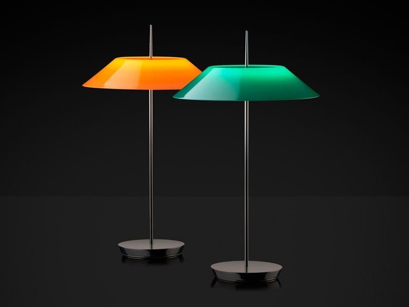 Lampada da tavolo a LED con dimmer MAYFAIR | Lampada da tavolo in metacrilato by Vibia