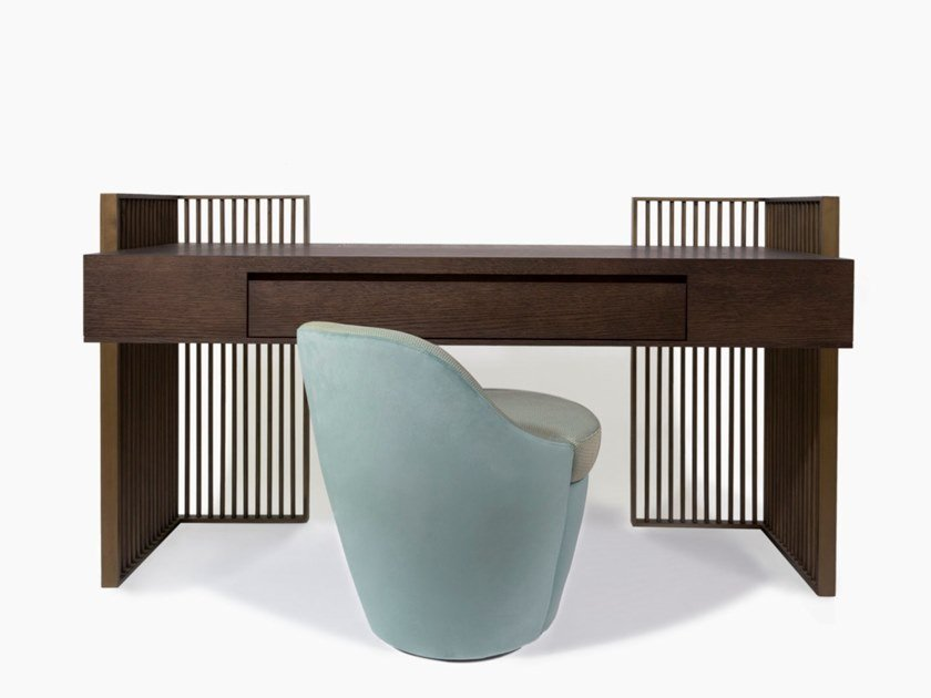 Wooden dressing table MAZARINE by HUGUES CHEVALIER