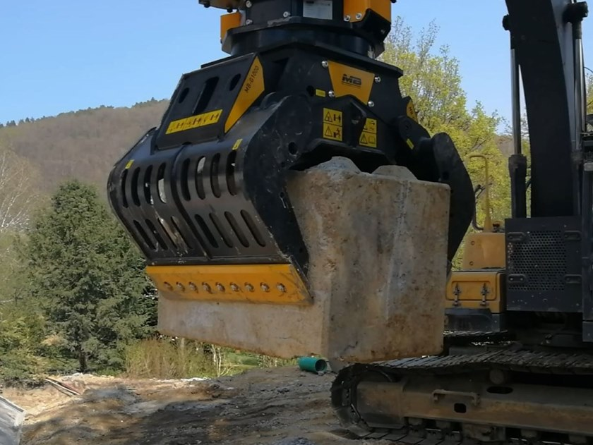 Pinza selezionatrice MB-G1000 by MB Crusher
