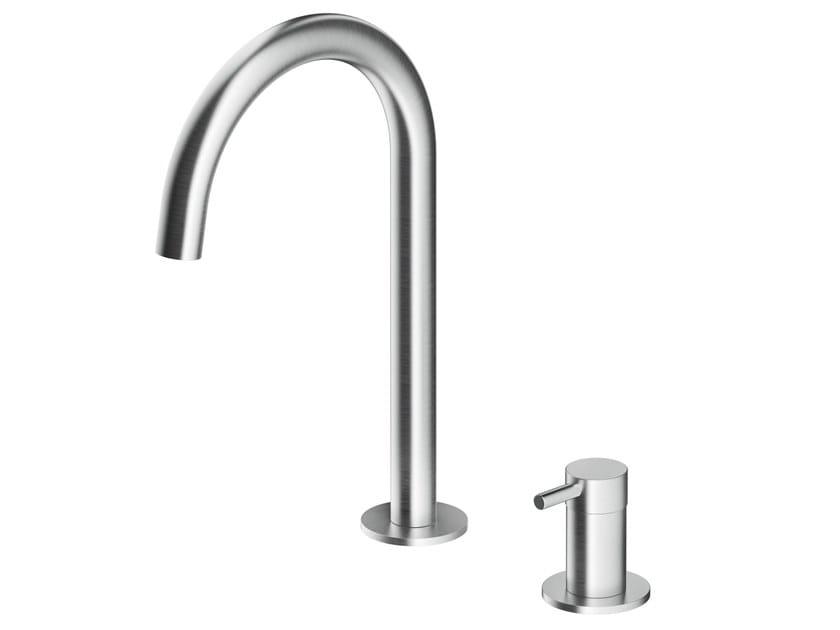 Countertop stainless steel washbasin mixer MB262 | Washbasin mixer by MGS