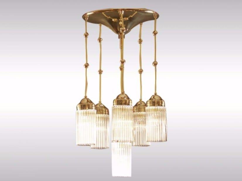 Pendant lamp MB3-6FL | Pendant lamp by Woka Lamps Vienna