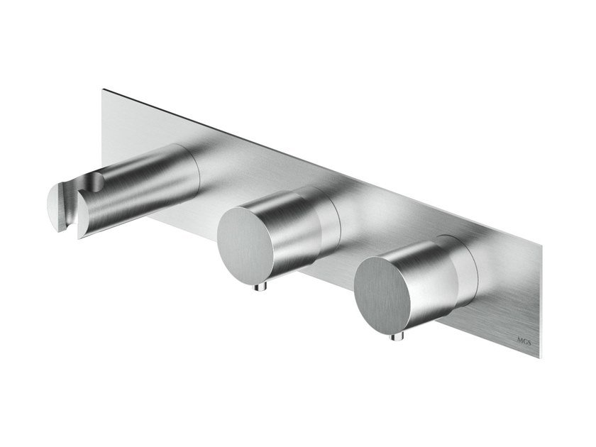 3 hole stainless steel shower set MB455 / MB456 | Shower set by MGS