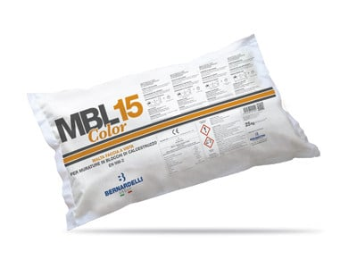 Mortar for masonry MBL15 COLOR by Bernardelli Group