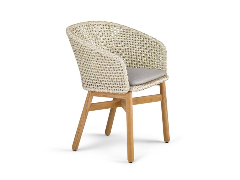 Chair with armrests MBRACE | Chair by DEDON