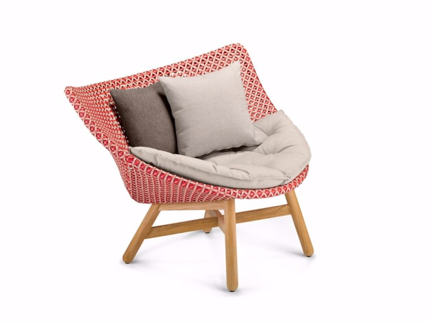 Dedon De mbrace garden armchair mbrace collection by dedon design sebastian