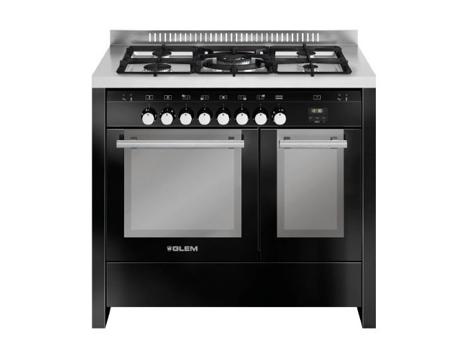 Steel cooker MD112CBL | Cooker by Glem Gas