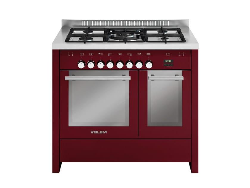 Steel cooker MD112CBR | Cooker by Glem Gas