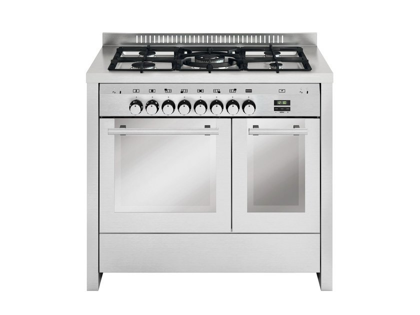 Steel cooker MD112CI | Cooker by Glem Gas