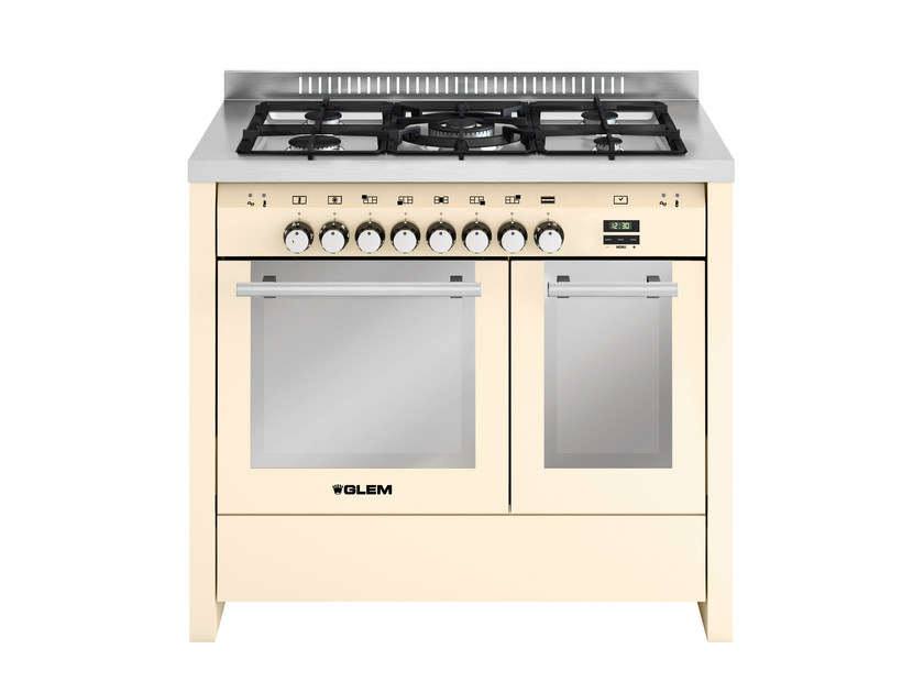 Steel cooker MD112CIV | Cooker by Glem Gas