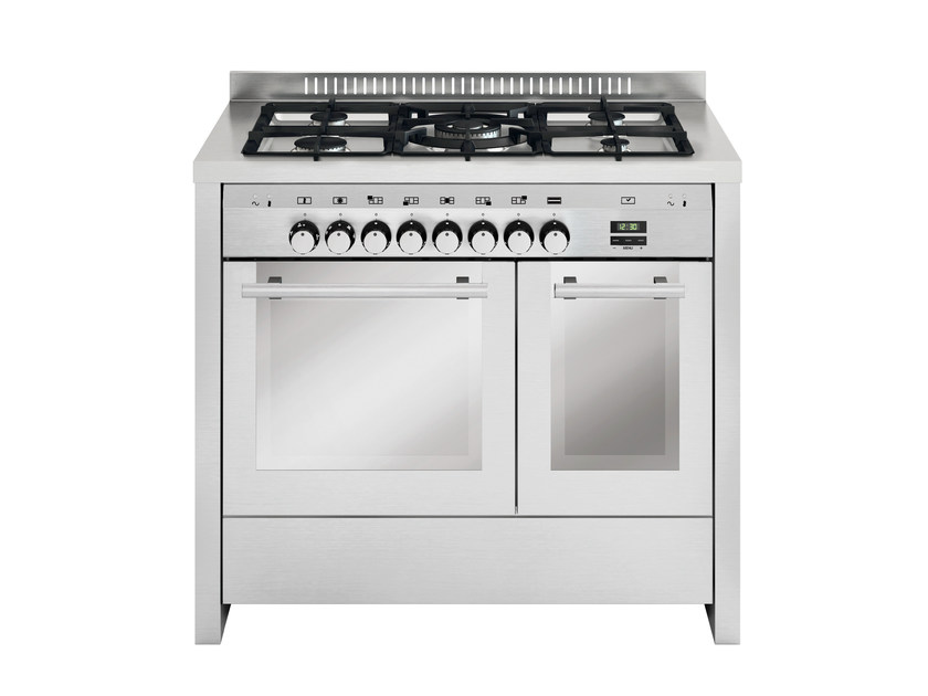 Steel cooker MD112SI | Cooker by Glem Gas