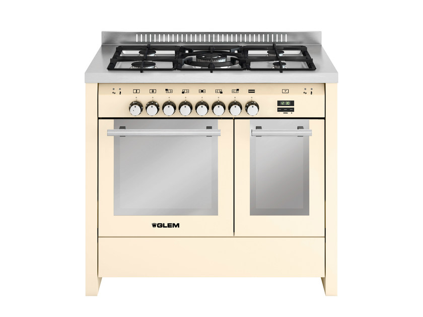 Steel cooker MD112SIV | Cooker by Glem Gas