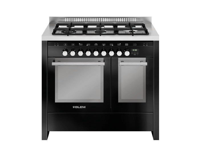 Steel cooker MD122CBL | Cooker by Glem Gas