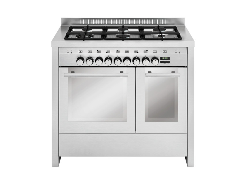 Steel cooker MD122CI | Cooker by Glem Gas