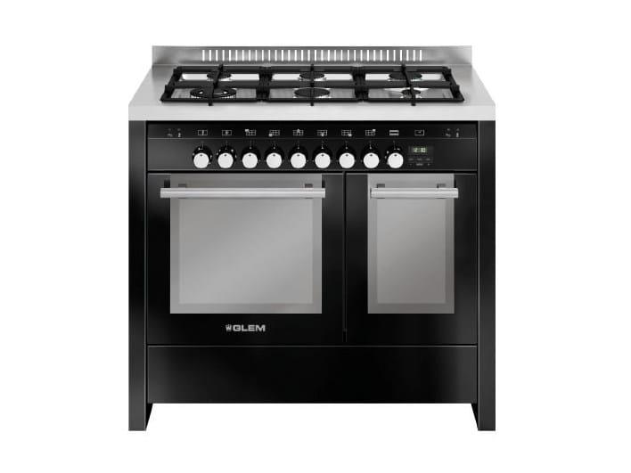 Steel cooker MD122SBL | Cooker by Glem Gas