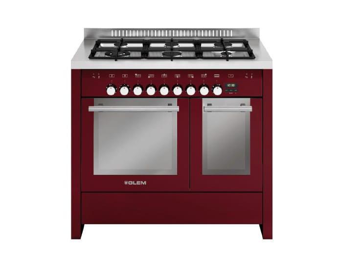 Steel cooker MD122SBR | Cooker by Glem Gas