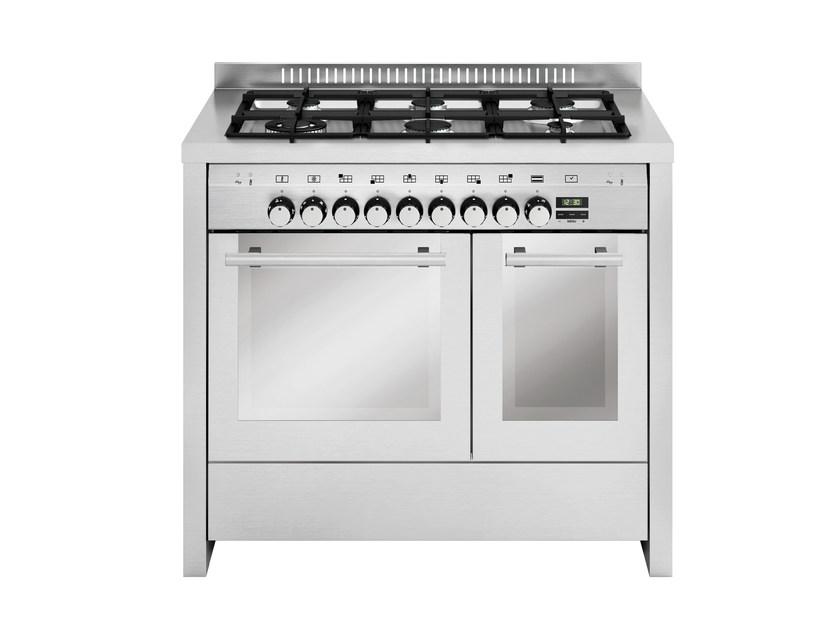 Steel cooker MD122SI | Cooker by Glem Gas