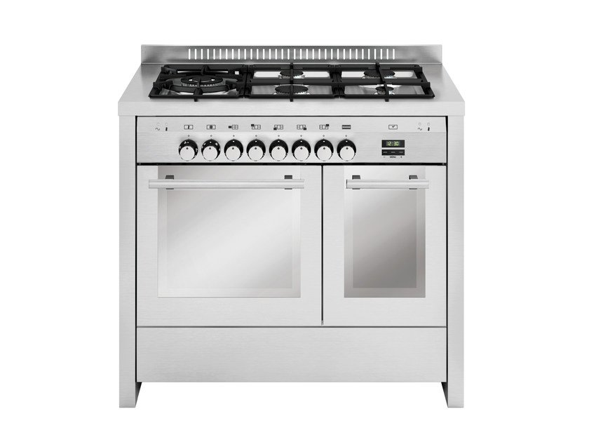 Steel cooker MD144CI   Cooker by Glem Gas