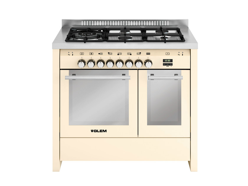 Steel cooker MD144CIV | Cooker by Glem Gas