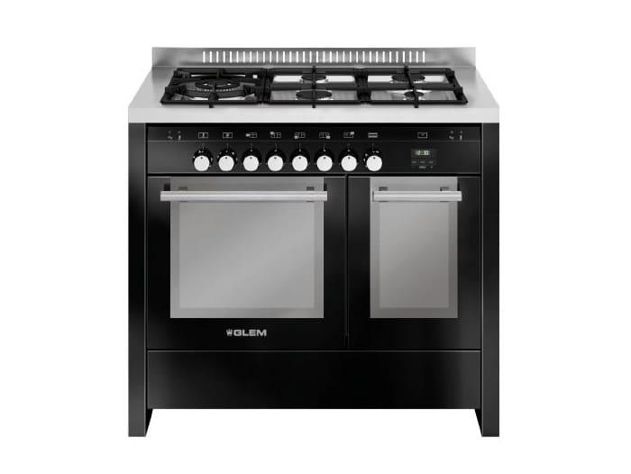Steel cooker MD144SBL | Cooker by Glem Gas