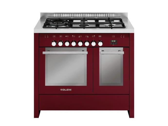 Steel cooker MD144SBR | Cooker by Glem Gas