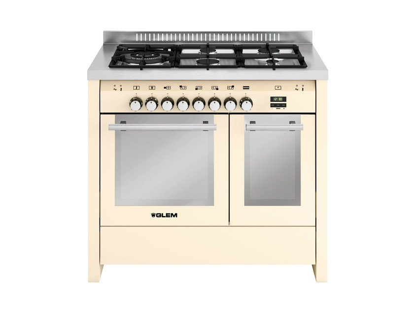 Steel cooker MD144SIV | Cooker by Glem Gas