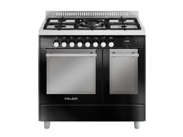 Steel cooker MD912CBL   Cooker by Glem Gas