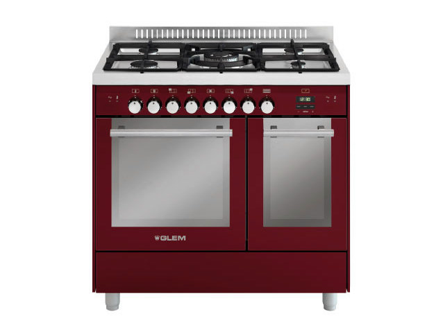 Steel cooker MD912CBR | Cooker by Glem Gas