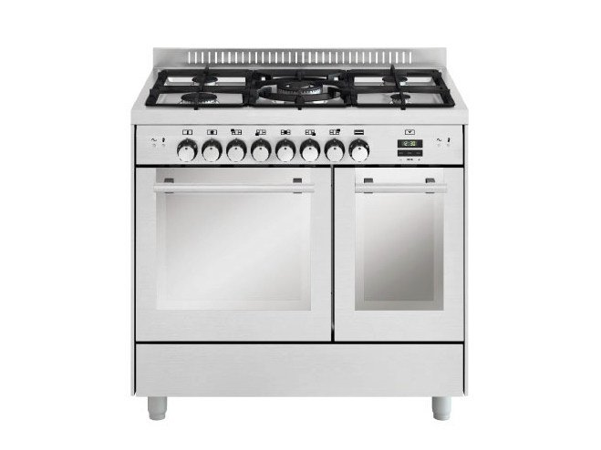 Steel cooker MD912CI | Cooker by Glem Gas