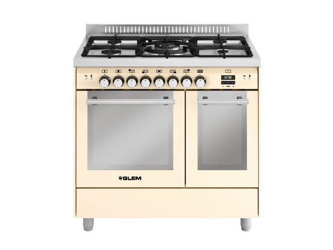 Steel cooker MD912CIV | Cooker by Glem Gas