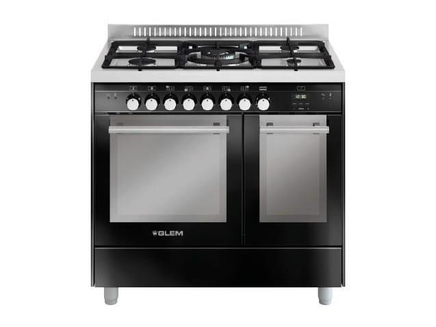Steel cooker MD912SBL | Cooker by Glem Gas
