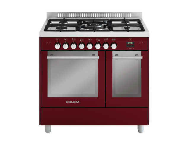 Steel cooker MD912SBR | Cooker by Glem Gas