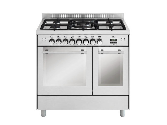 Steel cooker MD912SI | Cooker by Glem Gas