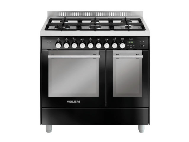 Steel cooker MD922CBL | Cooker by Glem Gas