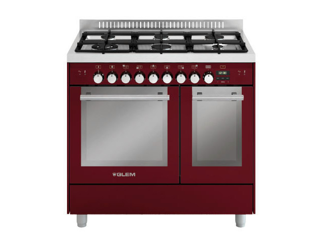 Steel cooker MD922CBR | Cooker by Glem Gas