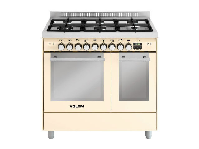 Steel cooker MD922CIV | Cooker by Glem Gas