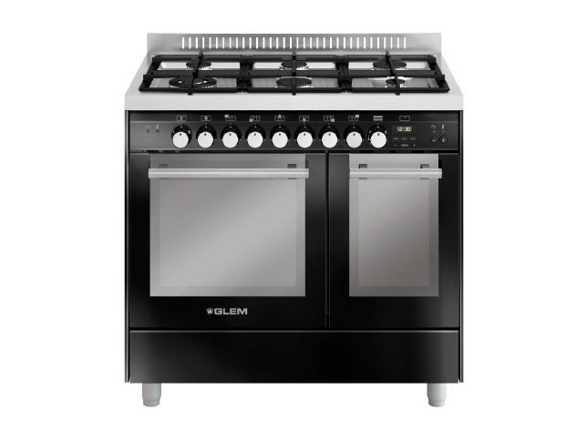 Steel cooker MD922SBL | Cooker by Glem Gas