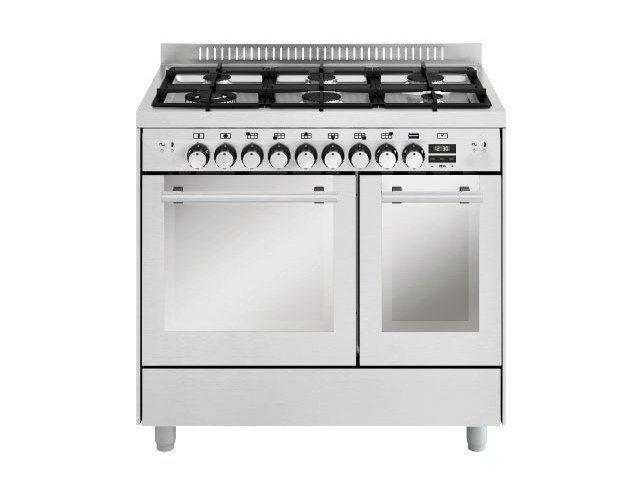 Steel cooker MD922SI   Cooker by Glem Gas