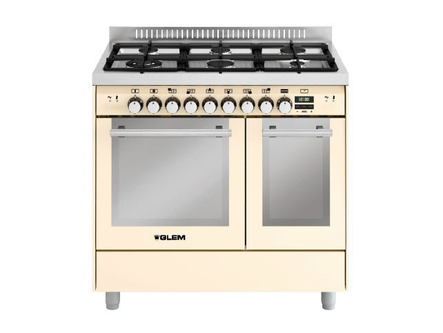 Steel cooker MD922SIV   Cooker by Glem Gas