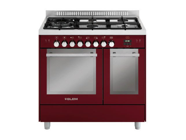 Steel cooker MD944CBR | Cooker by Glem Gas