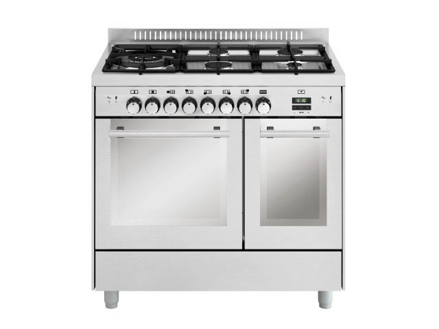 Steel cooker MD944CI | Cooker by Glem Gas
