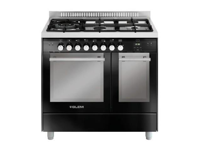 Steel cooker MD944SBL | Cooker by Glem Gas