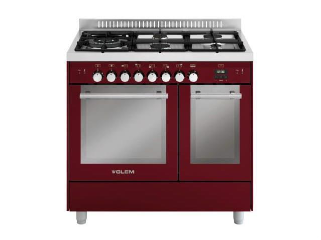 Steel cooker MD944SBR   Cooker by Glem Gas